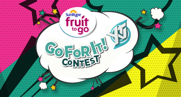 SunRype Fruit To Go For It | YTV Contest