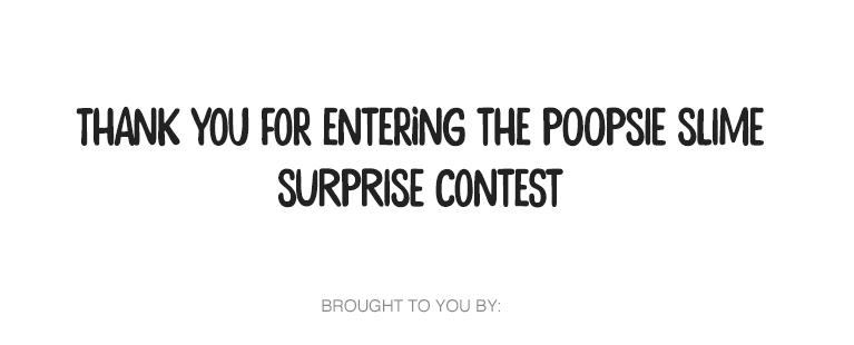 Poopsie Slime | YTV Contest