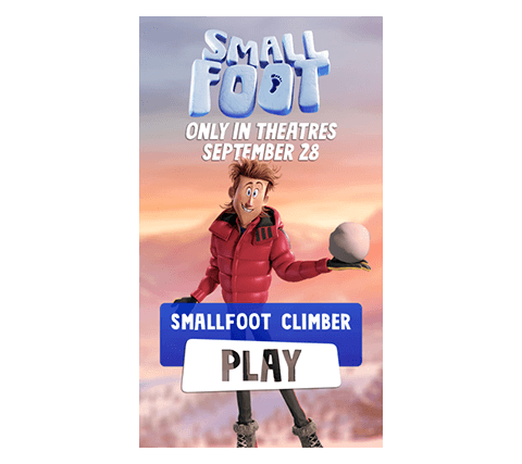 Play smallfoot climber